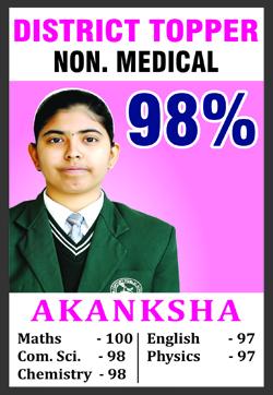 Akanksha SRC Topper (12 + 10 )18-19