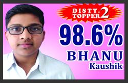 Bhanu SRC Topper 18-19